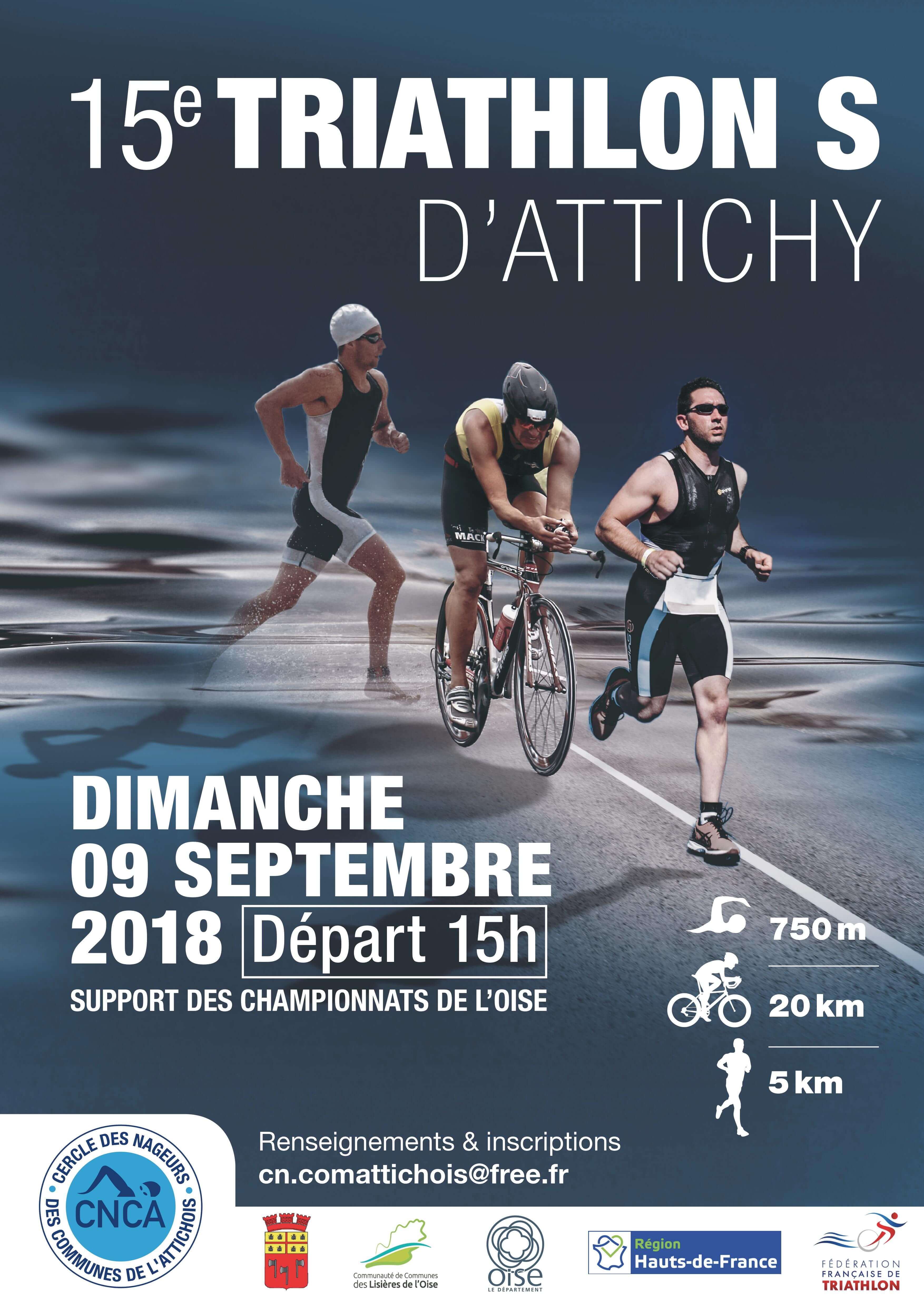 triathlon 9 septembre 2018